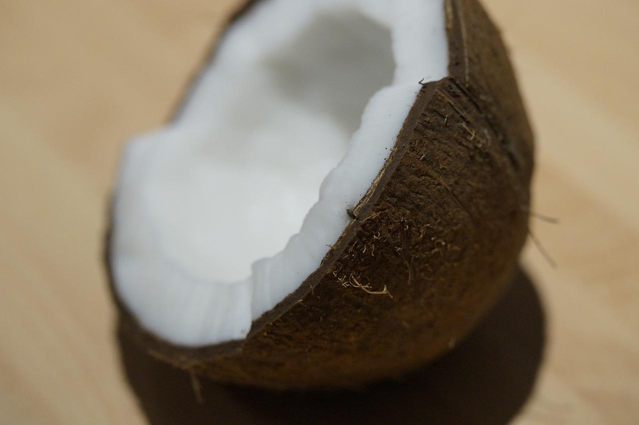 Kokosöl aus der Kokosnuss