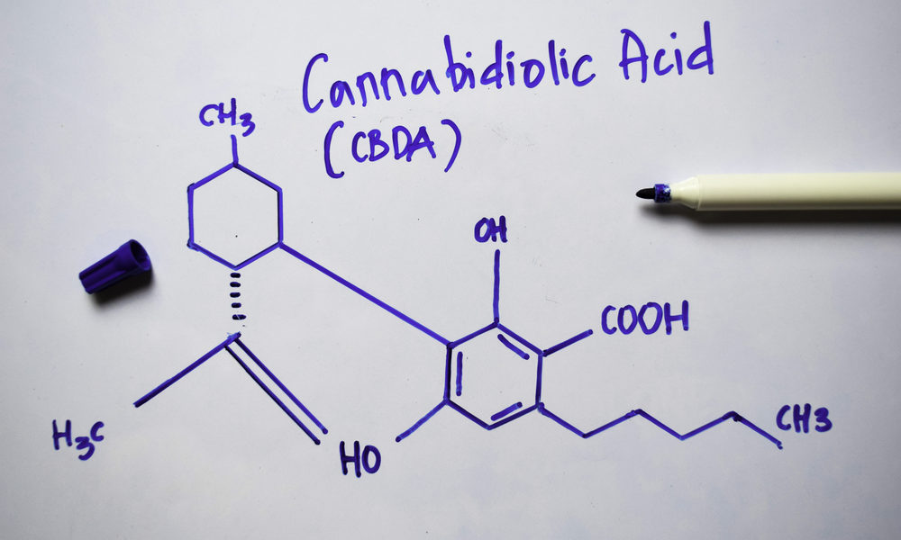 CBDa Formel